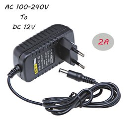 Wholesale 12v 2a Led Strip Driver - Jiawen LED Power Supply AC 100-240V to DC 12V 2A Driver LED Adapter for Led Strips Lights Lighting Transformers