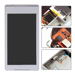 Wholesale New Display For Mobile Phone - New Mobile Phone Parts Lcd For Sony Z5 Display With Touch Screen Digitizer Free Shipping