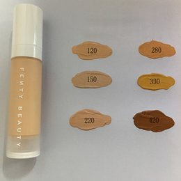 Wholesale Natural Bulb - In Stock Fenty Beauty rihanna Pro Filt Soft Matte Longwear Foundation Concealer 6colors Instant Retouch Primer 32ml FREE SHIPPING