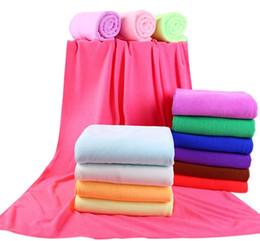 Wholesale Travel Towels Wholesale - Microfiber Bath Towels Beach Quick Drying Bath Washcloth Shower Towel Swimwear Travel Camping Towels 70x140cm wa4239