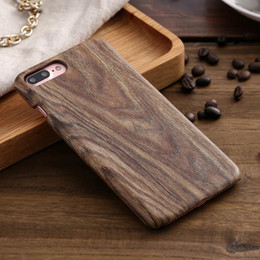 Wholesale Genuine Apple Accessories - Unique Classy Stylish Premium Genuine Wooden Accessory for iPhone 7 plus 6S 5SE,Bamboo Wood Case Hard Plastic Back Cover for Samsung S6 S7