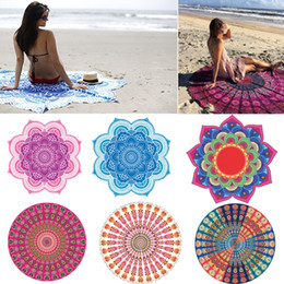 Wholesale Scarf Hand Rolled - 3D Printing Beach Towel Quick Drying Sunscreen Shawl Scarf Nonstick Sand Blanket Wall Hanging Portable Blankets Hot Sell 25bnn J R