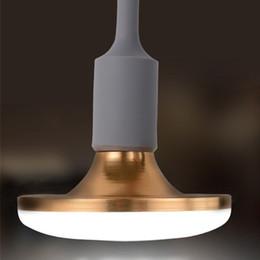 2019 taches blanches en plastique LED Aluminium UFO Ampoules E27 20W AC85-265V PF0.9 5730SMD 1800LM E14 B22 E12 E26 Globe Lampes Éclairage Direct Shenzhen Chine En Gros