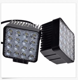 Wholesale Waterproof Atv Offroad Lights - 4 Inch 12V 24V 3200LM 48W Waterproof Square LED Car Work Light for Motorcycle Tractor Boat 4WD Offroad SUV ATV CEC_425