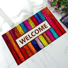 Wholesale Outdoor Rubber Rugs - Multi Color Oriental Welcome Mat Modern Rubber Carpet Flooring Door Bedroom Rectangular Anti-slip Bath Printed Large Area Rugs