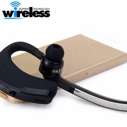 Wholesale Universal Numbers - high quality V8 Bluetooth earphone V4.0 Business Stereo Earphones With Mic Wireless Universal Voice Report Number Handfree earphone
