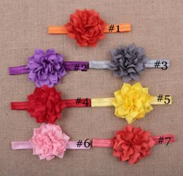 Wholesale Purple Yellow Hair Combs - Hair Accessories Baby Contrast Color Girl Grosgrain Hair bow clips Accessories YH474
