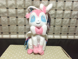 "Wholesale Wholesale Childrens Dolls - Wholesale- Sylveon ~9.5"" Mini-Plush: Evolution of Eevee Series Plush toy doll Childrens Gift Toy Kids"