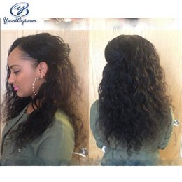 Wholesale Lowest Price Brazilian Hair - Top Grade 7A Full Lace Wigs 100% Natural Water Wave Low Price Human Hair Wig Best Quality Wet And Wavy Black Woman Hair