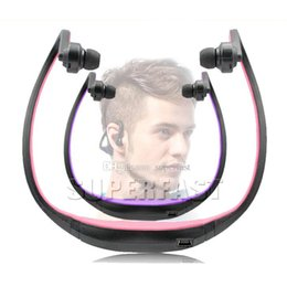 Wholesale wireless speaker for apple - Bluetooth Headsets S9 Headphone Sport Bluetooth Speaker Neckband Earphone Bluetooth 4.0 With Retail Package DHL Free Shipping
