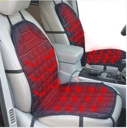 Wholesale Mitsubishi Car Covers - Winter 12V Heated Car Seat Cushion Cover Seat Heater Warmer for Mazda 3 Axela 6 CX-5 ATENZA Mitsubishi Lancer Mirage Outlander Pajero ASX