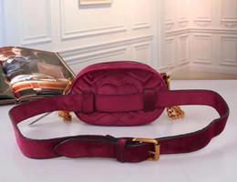 Wholesale Autumn Handbag - Autumn And Winter style Most populur luxury handbags women bag designer mini messenger bags Cross body Shoulder velvet girl waist bag