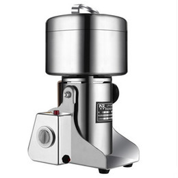 Wholesale Herb Grinding Machine - Capacity 800g Coffe Grinder Stainless Steel Electric Flour Mill Crusher Grains Powder Pepper Herb Grinding Machine For Mincer