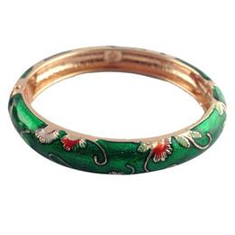 Wholesale Vintage Enamel Bangle Bracelets - Newest Fashion shiny Bracelet Vintage national style Jewelry Fashion Holiday Gifts Classic Accessories Women love Jewelry L108