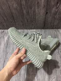 Wholesale Flat Shapes - 2017 update 350 Boost Moonrock Good shape Men WOMEN 350 Boost Running Shoes Sneaker Free shipping