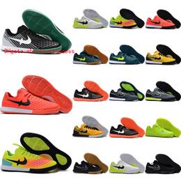 Wholesale Cheap Indoor Soccer Shoes Kids - 2017 MagistaX Finale II IC TF indoor soccer shoes magista x futsal men cheap magista obra soccer cleats original football boots kids leather