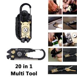 E-36 20 in 1 Tasche Werkzeug Outdoor EDC KeychainTrue Dienstprogramm von Nebo Travel Kit TU200US FIXR Selbsthilfe Notfallrettung Werkzeuge Opener Wrench von Fabrikanten
