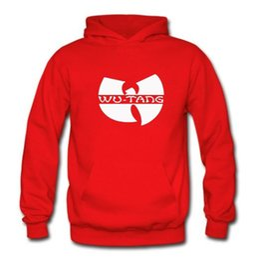 Wholesale Wu Tang Sweatshirt - 2017 Fleece Casual Unisex Hoodies Sweatshirt wu-tang Print Sport Bodybuilding Hip-hop Pullover Hooded Mens Sportwear Coat Jogger