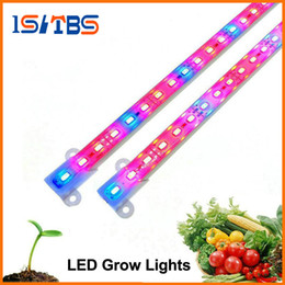 Wholesale Waterproof Aquarium Blue Led Lights - LED Grow Light DC12V IP68 Waterproof Hight Brightness 5630 LED Bar Light for Aquarium Greenhouse Plant Growing