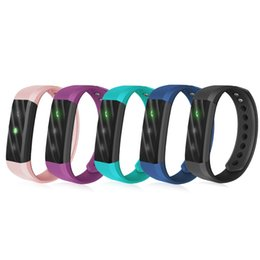 Wholesale Smart Home Alarm - ID115 Lite Smart Band Sports Waterproof Touch Screen Bracelet ID115Lite for Android IOS phone with 50mAh Battery Bluetooth Alarm Clock