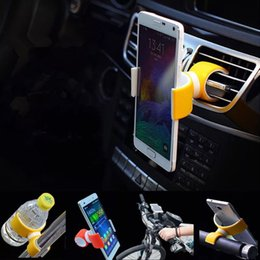 Wholesale Cheap Wholesale Bikes - Cheap Bicycle Bike Phone Mounts Car Vent Air Outlet Holders Stand 360 Degrees Rotatable for Cell Phone