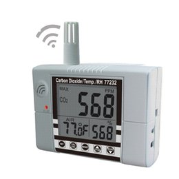 Wholesale Co2 Meter Air - Wholesale- AZ-77231 Indoor Wallmount Air Quality Meter CO2 Temperature Monitor