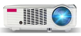Wholesale Atco Projectors - Wholesale- ATCO CT320 Cheapest 1080p Home Theater Portable HDMI USB LCD LED 3000lumens Projector HD 1080P Proyector Projetor Beamer
