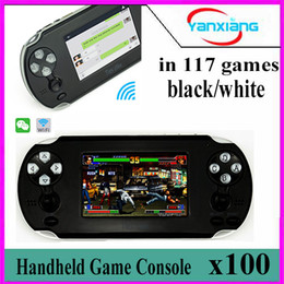 Wholesale Android Touch Screen Game Console - 100pcs NEW 3.5 Inch Handheld Game Console Android Support for PSP Wi-Fi with Touch Screen For 1080P HDMI Output BX-TU-2