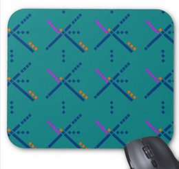 Wholesale Rubber Carpet Pads - Rectangular non-slip natural rubber mouse mat pdx portland airport carpet computer accessories office supplies mouse pad of gift