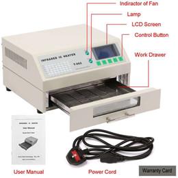 Wholesale Bga Machine - Updated New SMD BGA T962 Infrared IC Heater Reflow Oven Machine
