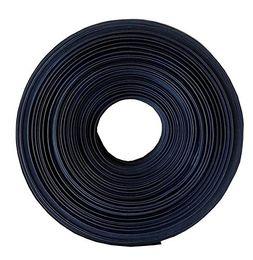 Diamètre 12,7, 15m, 19,1mm, 25,4mm 10M / 33Ft de gainage de fil de gaine thermorétractable doublé d'adhésif noir en polyoléfine ? partir de fabricateur