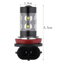 Wholesale Universal Xenon Fog Light - 2x H8 H11 50W 6000K Chips LED Car Fog Light Fog Lamp LED Headlight Fog Driving Lights Bulb 12V Xenon White