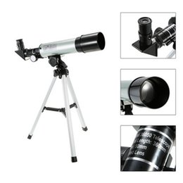 Wholesale Camping Tripod - Refractive Outdoor Monocular Astronomical Telescope With Tripod 360 50mm Scope powerful spotting scope Fully multi-coated 50mm Objective Len