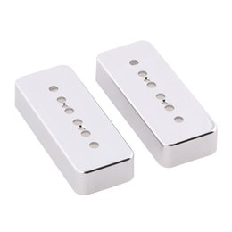 Wholesale Pickup Covers - CHROME PALTED P90 Soapbar Pickup Plastic Cover 50 52mm Pole Spacing