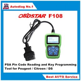 Claves de código pin online-OBDSTAR F108 + PSA PIN CODE Lectura y herramienta de programación clave para Peugeot / para Citroen / para DS OBDSTAR F-100