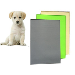 Wholesale Plastic Table Mats - 48*30*1CM pet dog cat silicone pad dining table mat waterproof dog pad cat car sit Rectangular mat PD028
