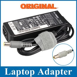 Wholesale Ibm T61 - Wholesale- Genuine Original AC Adapter 20V 4.5A 90W 7.9x5.0mm Laptop Charger For IBM For Lenovo Thinkpad X61 T61 R61 92P 40Y
