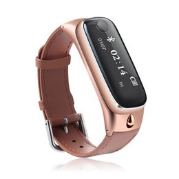 Wholesale Wrist Bluetooth Headset - Luxury M6 Smart Watch Sports Smart Bracelet band Bluetooth 4.0 Headsets Sleep Monitor Fitness Tracker for IOS Android Phone