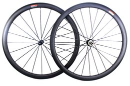 Wholesale Carbon Road Bike Wheels 25mm - Carbon road bike wheels rim depth 38mm Powerway Hub R36 straight pull Basalt brake surfce clincher tubular wheelset rim width 25mm