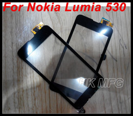 digitizer replacement kit NZ - For Nokia 530 Touch Screen Digitizer for NOKIA lumia 530 black Digitizer Panel Replacement OEM digitizers kit