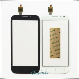 fly phone screen Coupons - Wholesale- Mobile Phone Outer Touch Panel Touchscreen For Fly iq4404 iq 4404 Touch Screen Digitizer Front Glass Sensor Lens Free Shipping