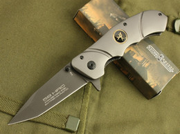 Wholesale Extrema Ratio F38 - Extrema Ratio F38 Titanium Tactical Folding Knife 5Cr13 56HRC Flipper Outdoor Camping Hiking Hunting Survival Pocket Military Utility EDC