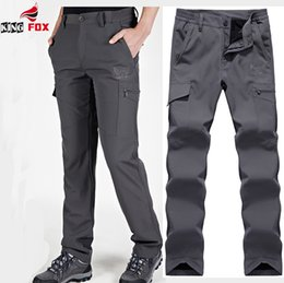 Wholesale Cargo Soft - Wholesale- mens Soft shell tactical pants scratch resistant, water-resistant, wear-resistant Fast Drying fleece warm men casual cargo pant