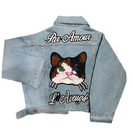 Wholesale Women Jean Coat - Wholesale- Short Cat Embroidery Denim Jackets for Womens Fashion Jean Coats with Letter Autumn Winter Chaquetas Mujer Soft Lady Jean Jacket