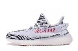 Wholesale Toes Shoes For Kids - Kids Boost 350 v2 Zebra Boost French Monta SPLY 350 V2 Zebra Running Shoes for sale 29-35