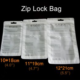 Wholesale Clear Ziplock Bags - Ziplock bag Retail Package for iPhone Case Plastic Clear Packing Bags Cell Phone case Zipper Retailed Packaging Box