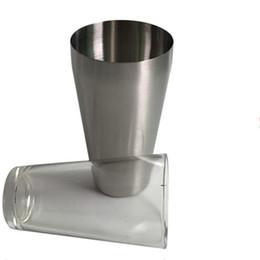 metallschüttlerbecher Rabatt Cocktail Shaker Bar Barware Metall Mit Glasschale Edelstahl Boston Shakers Bar Barkeeper Werkzeug Korrosionsschutz 16 8mc C R