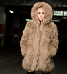 Wholesale Sexy Fur Coats - New Ladies Slim Long Sleeve Imitation Fur Coat Sexy Coat jacket