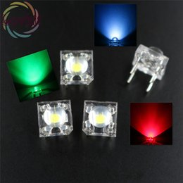 Wholesale Rgb Leds Common Anode - Wholesale- 100 X LED 5MM RGB COMMON Anode Piranha Super Flux Leds 4 pin Dome Wide Angle Super Bright Light Lamp For Car Light High HOT SALE