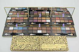 Wholesale Eye Shadow Palette Leopard - New Makeup Leopard EyeShadow Palette 10 color Eye Shadow 12pc